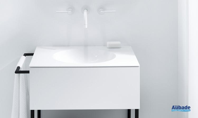 Meuble salle de bain blanc Coco Burgbad