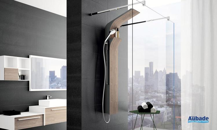 Colonne design et tête de douche Vanity de Novellini
