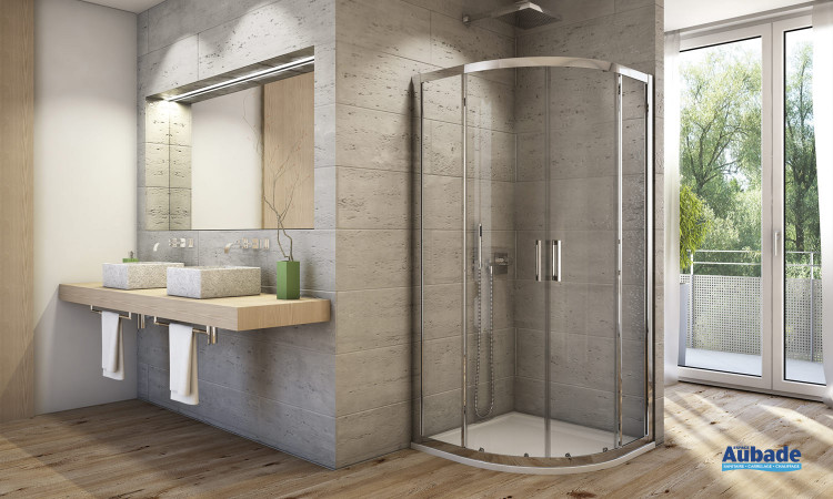 AUPR de Sanswiss: paroi de douche