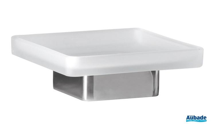 Porte savon à poser chromé Cubo de la marque Inda
