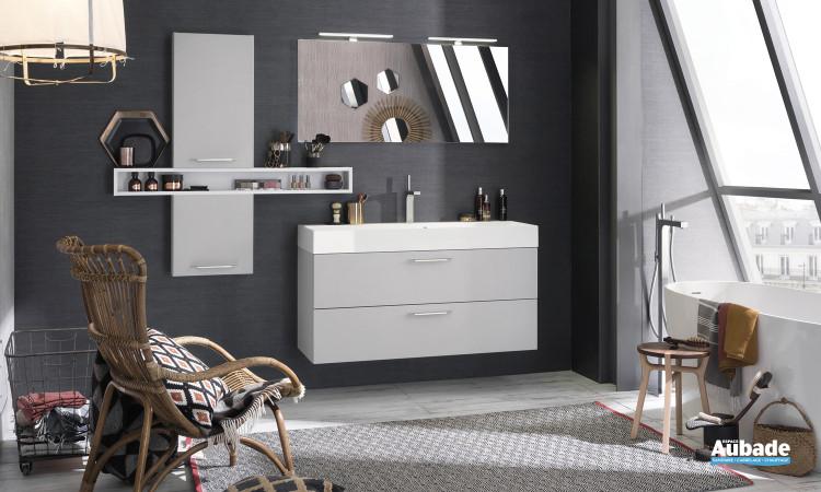 Meuble de salle de bains Unique laque SOFT de Delpha
