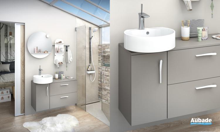Meuble de salle de bains Ilot 100 de Delpha