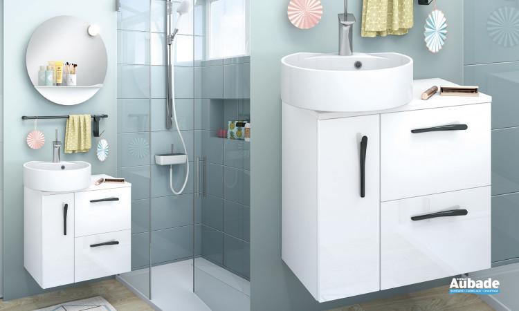 Meuble de salle de bains Delphy Ilot 60 de Delpha