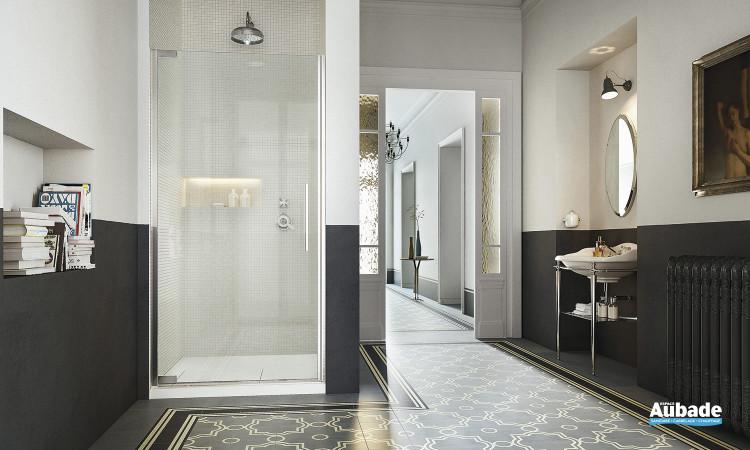 Cabine de douche avec porte pivotante Flare de Vismara