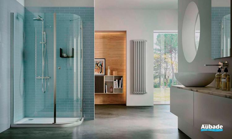 Cabine de douche sur-mesure Sintesi de Vismara Vetro