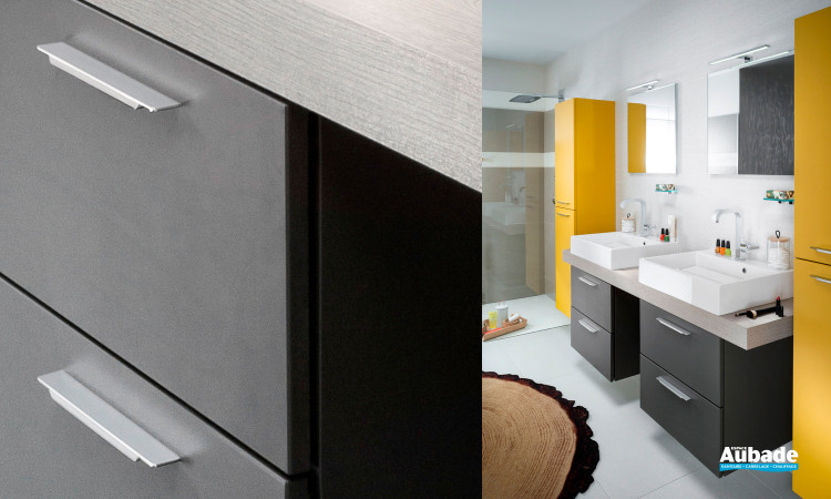 Meubles Salle de bains Delpha Unique Soft Mokat Mat