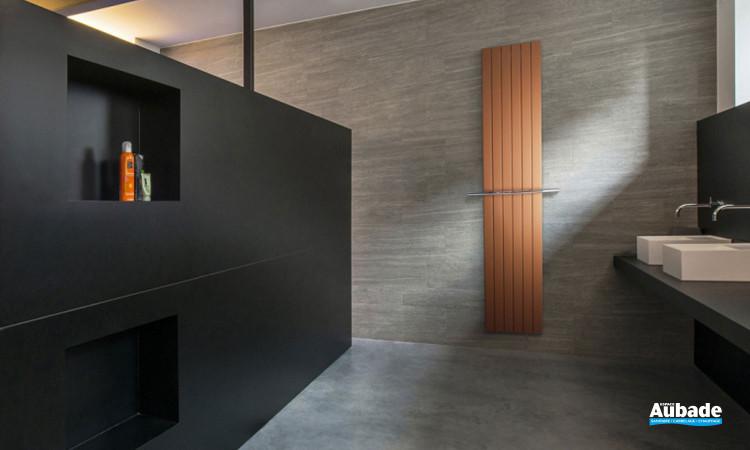 Sèche-serviettes Viola dans une salle de bains moderne