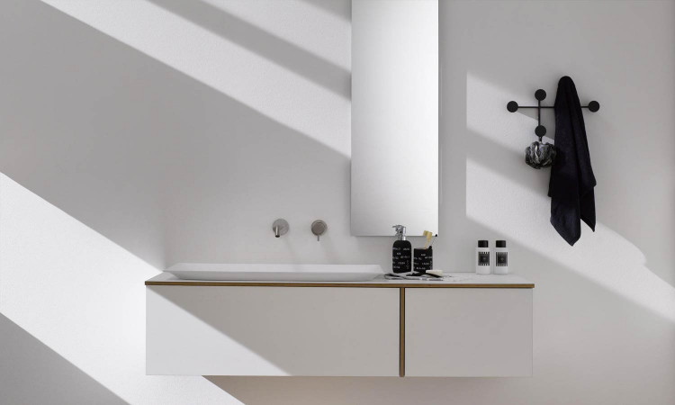 Meuble de salle de bains Tao par Stocco