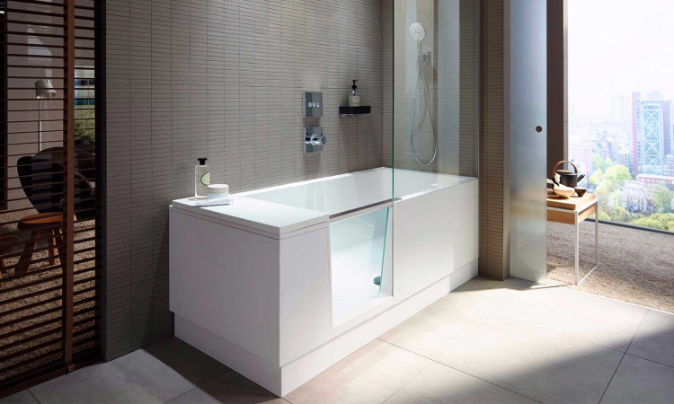 Combiné Bain-Douche Shower + Bath par Duravit 3