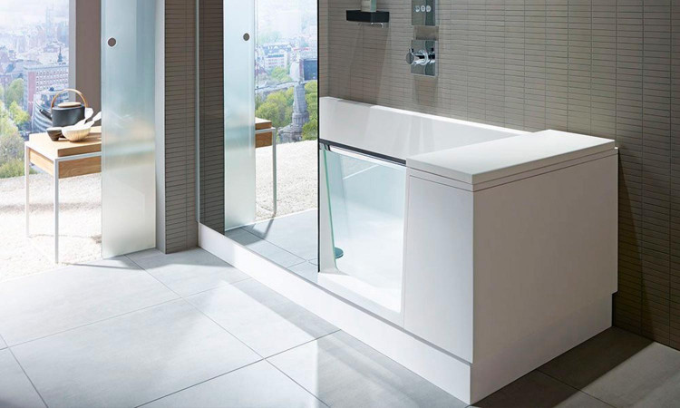 Combiné Bain-Douche Shower + Bath par Duravit 2