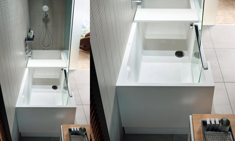 Combiné Bain-Douche Shower + Bath par Duravit 1