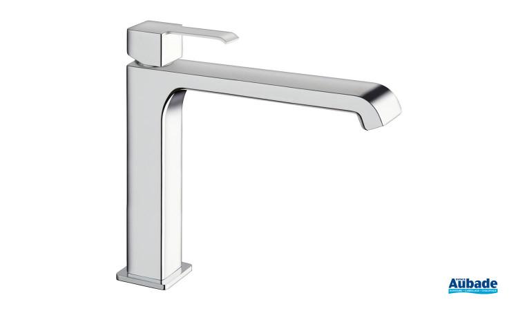 Mitigeur pour lavabo médium chromé et sans vidage Quadrata de la marque Cristina