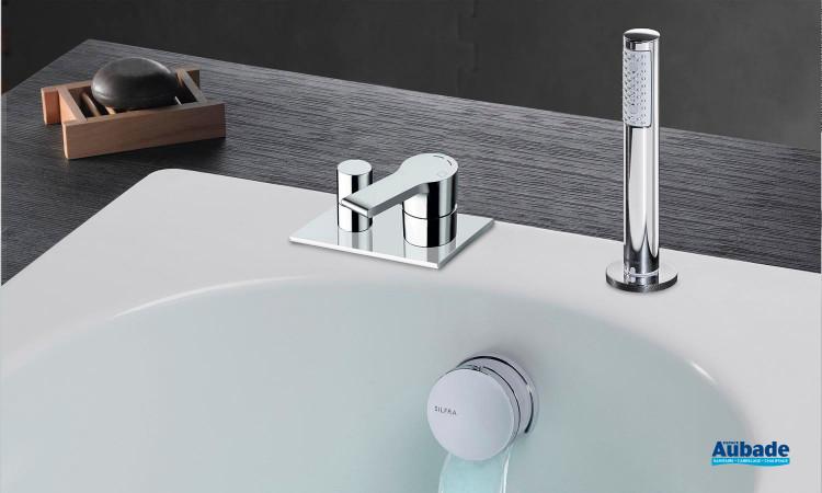 Robinet bain/douche encastré Delta de Cristina
