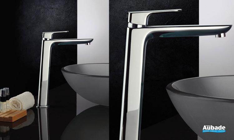 Robinet mitigeur lavabo réhaussé New-York finition chromée de Païni
