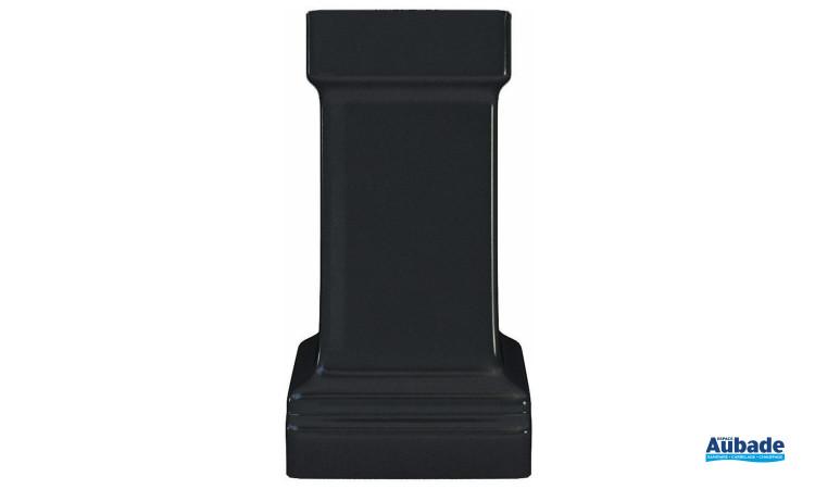 Baignoire ilot Windsor de Burlington - Pied standard Noir