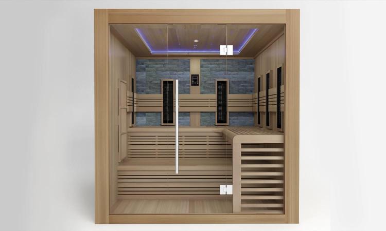 Sauna Helsinki 3/4 personnes de Collin Arredo
