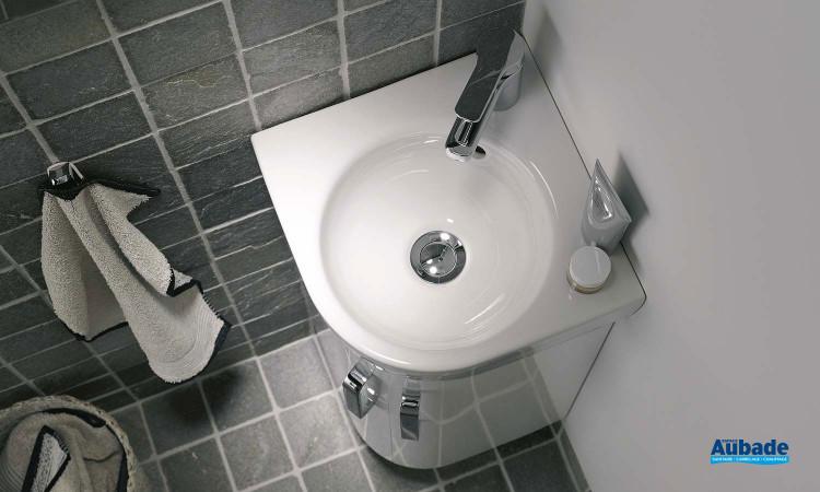 Lave-mains Prima Style d'angle d'Allia