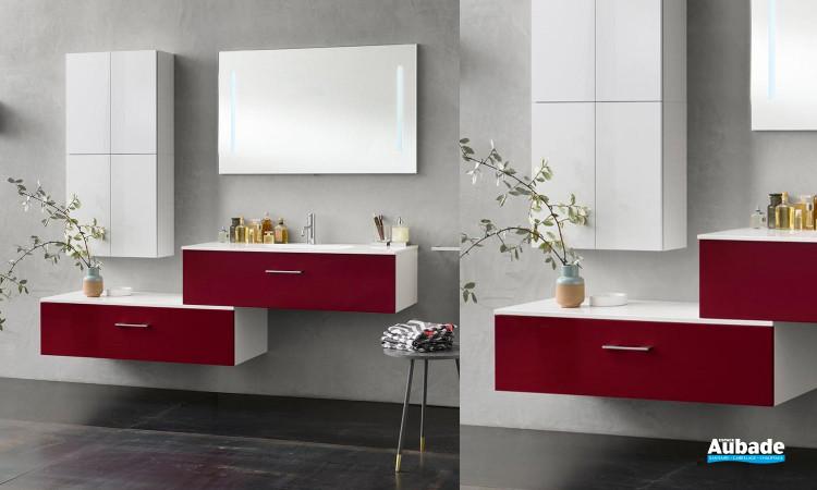 Collection de meubles de salle de bains CITY par Inda 1