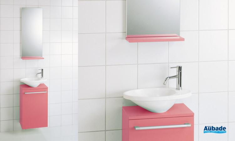 Meuble sous lave-mains, Oval de Decotec