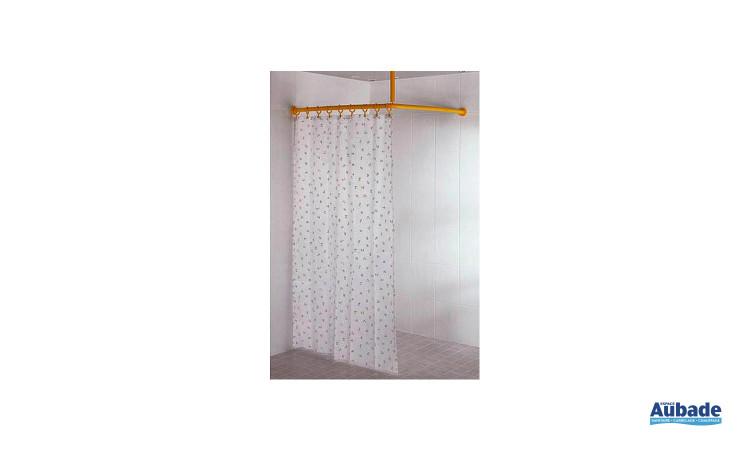 Rideau de douche pour tringle antibactérien Normbau