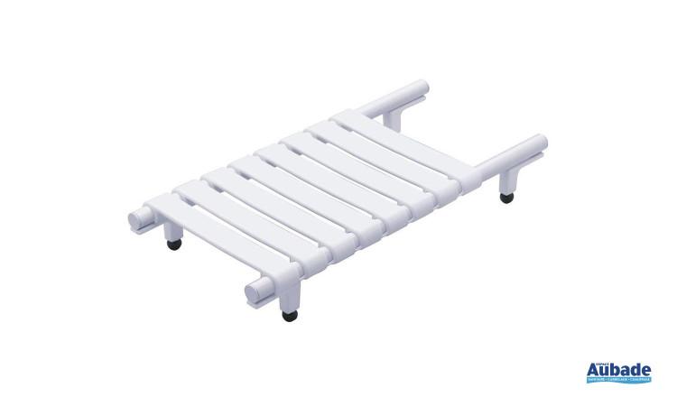 Planche de bain réglable pour baignoire intérieur pour personne à mobilité réduite