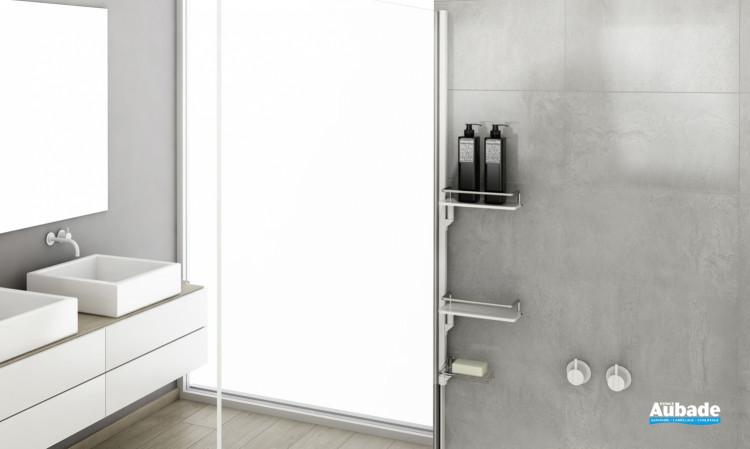 Accessoires Walk-in - Kit 1 - Mural Blanc mat