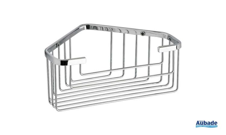 Etagère porte-objets d'angle Gedy, épurée qui pourra se placer facilement dans une douche