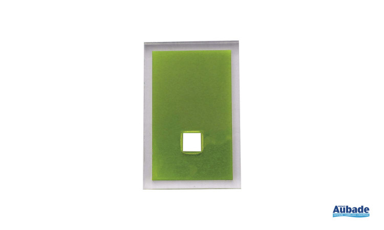accessoires tendances pour salle de bains en coloris vert