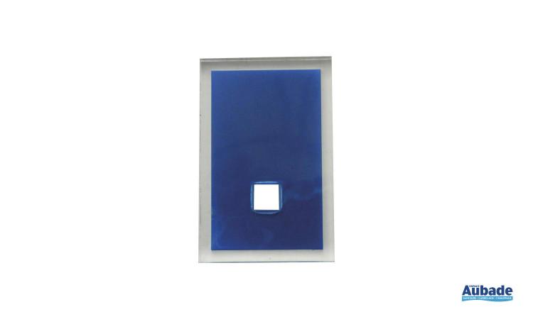 accessoires tendances pour salle de bains en coloris bleu
