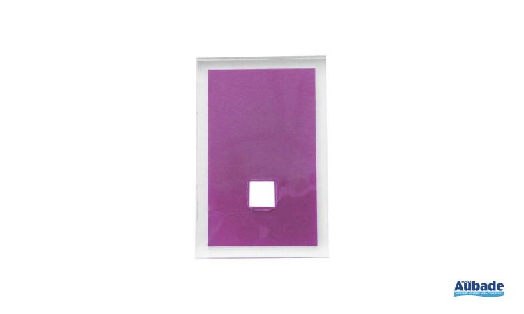accessoires tendances pour salle de bains en coloris violet