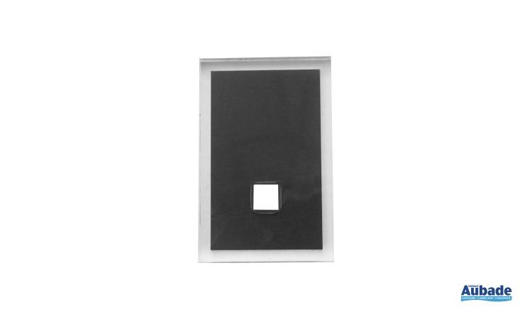 accessoires tendances pour salle de bains en coloris noir