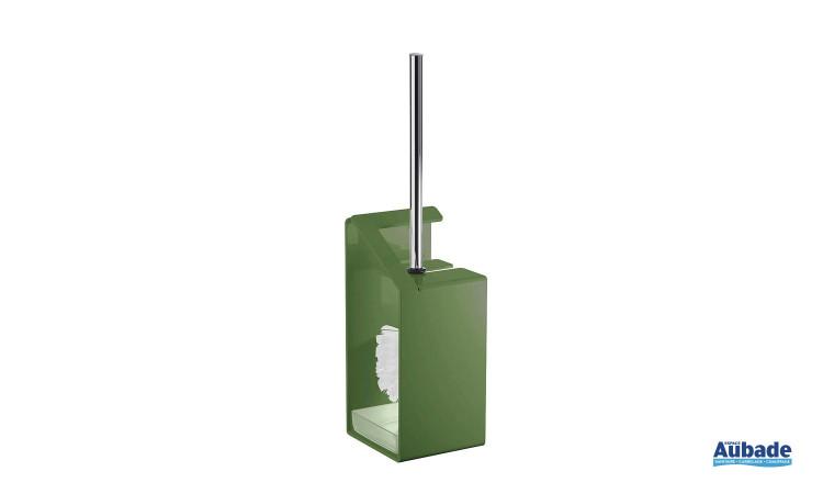 porte-brosse wc coloré Griffon en aluminium laqué, coloris vert