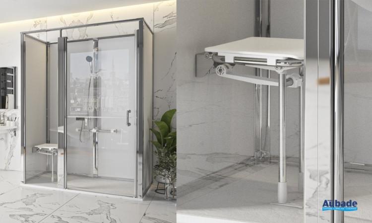 Aide mobilité réduite Espace de douche Onyx d'AKW