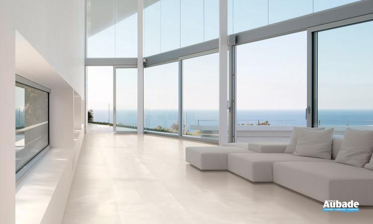Carrelage blanc_ivoire Ergon Architect  Resin