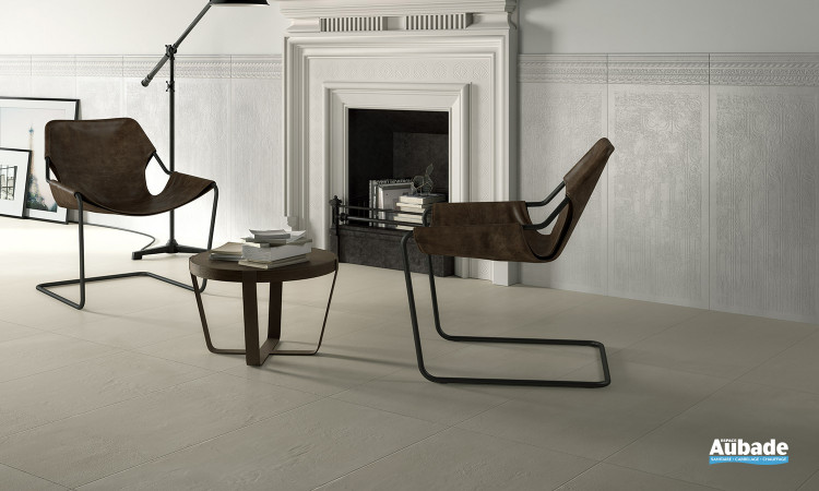 Carrelage blanc_ivoire Imola Creative Concrete