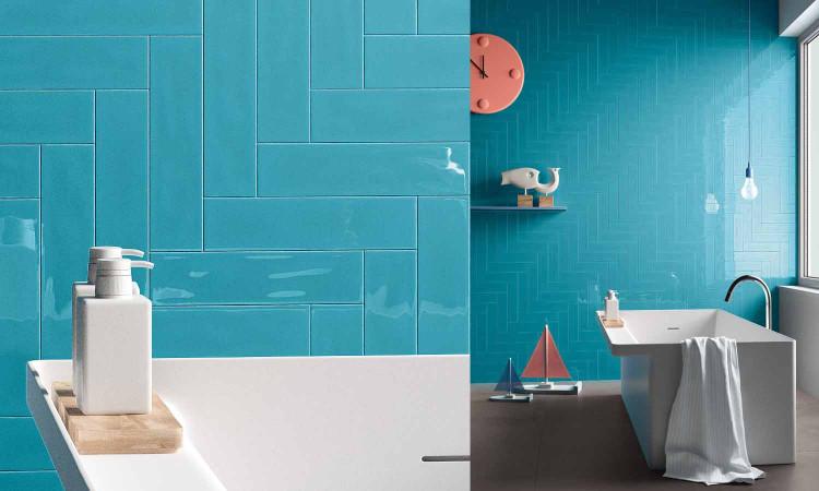 Carrelage Turquoise imola Slash