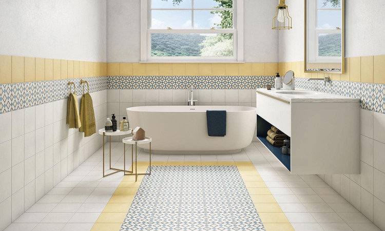 Carrelage Yellow pavigres StoryT
