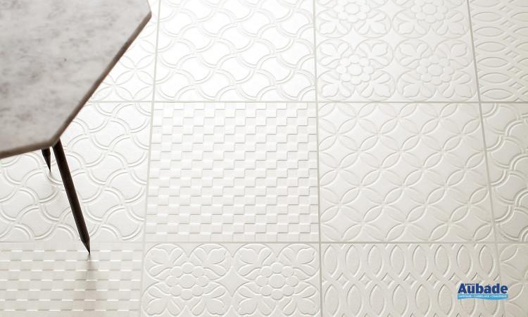 Carrelage blanc_ivoire Tagina Deco d'antan
