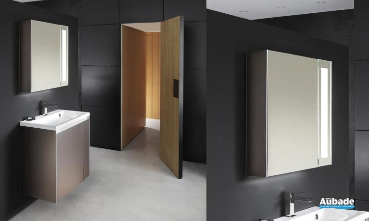 Armoire de toilette lumineuse avec miroir Smart de Decotec