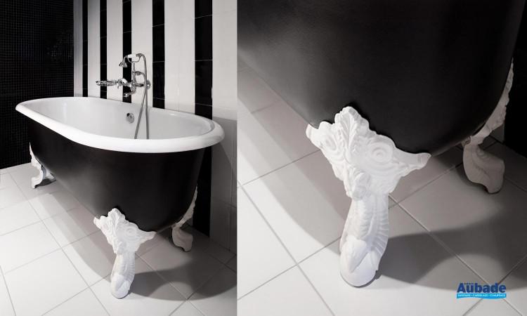 La baignoire Cléo pour une salle de bains au style rétro 02