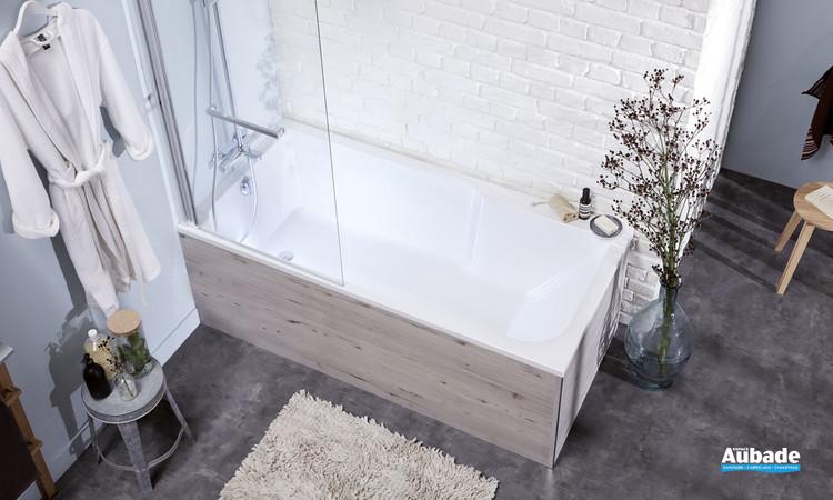 Baignoire bain/douche acrylique