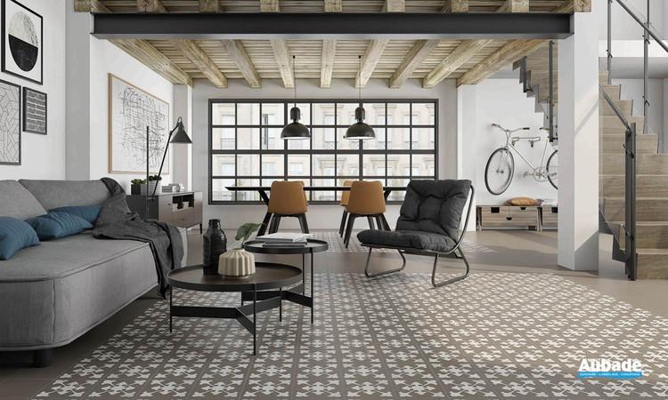 Collection  Inspiration Ciment par Bati-Orient en coloris Blanc Cassé, Taupe