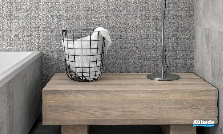 Collection Mosaïque Aluminium par BatiOrient en coloris Alu/Gris/Argent