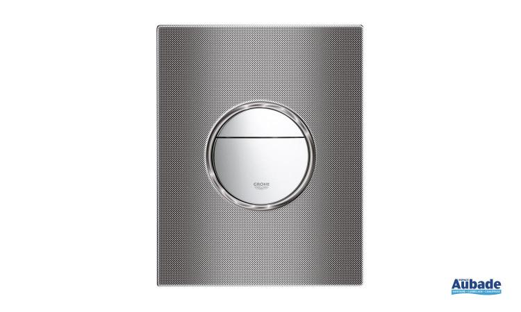 Plaque de commande wc double touche Nova Art Optique de Grohe