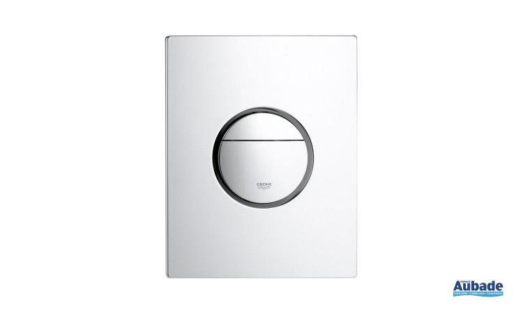Plaque de commande wc design Nova de Grohe