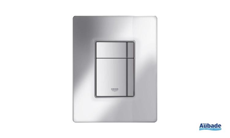 Plaque de commande wc en verre Titanium Skate Cosmopolitan de Grohe
