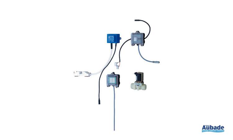 Mécanisme chasse d'eau automatique bati-support de Grohe