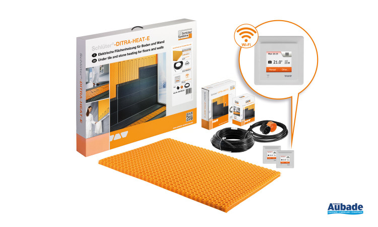 carrelage mise en oeuvre schluter systems schluter ditra heat e duo