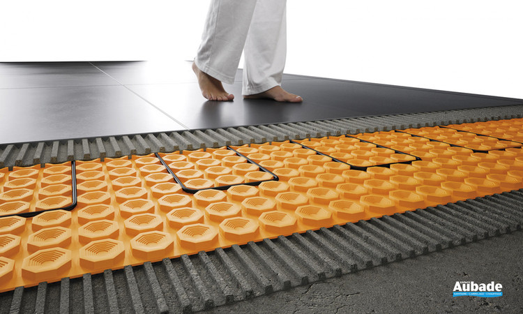 carrelage mise en oeuvre schluter systems schluter ditra heat e r wifi