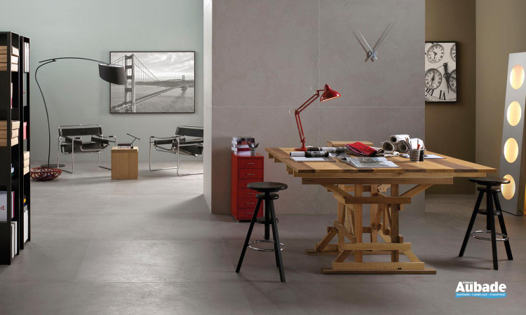 Carrelage imitation béton intérieur Concrete Project de Imola Ceramica